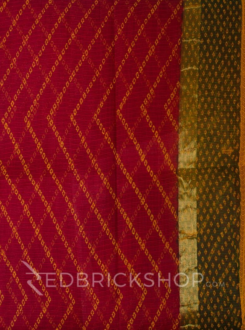 BANDHEJ MULTI COTTON KOTA SAREE