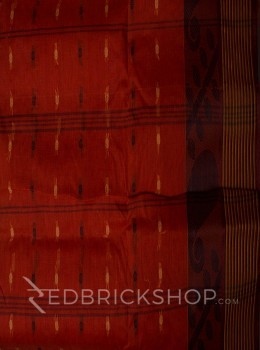 TANGAIL LEAF RUST COTTON SAREE